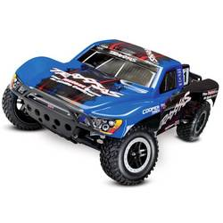 Traxxas Slash VXL črna, modra brez ščetk 1:10 RC modeli avtomobilov elektro short course zadnji pogon (2wd) RtR 2,4 GHz
