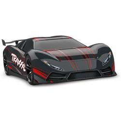 Traxxas X0-1 Supercar črna brez ščetk 1:7 RC modeli avtomobilov elektro cestni model pogon na vsa kolesa (4wd) RtR 2,4 GHz