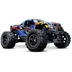 Traxxas X-Maxx 4x4 VXL RocknRoll modra brez ščetk RC modeli avtomobilov elektro monster truck pogon na vsa kolesa (4wd) RtR 2,4