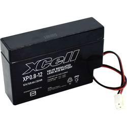XCell XP0.812JST XCEXP0.812JST svinčeni akumulator 12 V 0.8 Ah svinčevo-koprenast (Š x V x G) 96 x 62 x 25 mm jst konektor brez