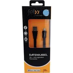 Felixx Premium polnilni kabel [1x moški konektor USB - 1x moški konektor Apple dock lightning] 3.00 m