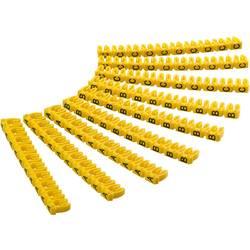 Goobay 72516 sponka za označevalne oznake Tiskanje A, B, C Premer zunanjega območja 1.50 do 2.50 mm 72516