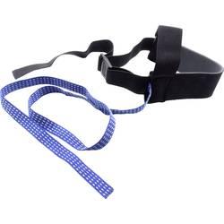 Quadrios esd petni trak za ozemljitev 1 kos črna, modra