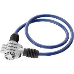 Basi kabelska ključavnica modra ključavnica s številčnico