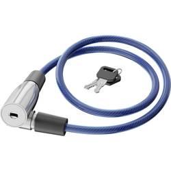 Basi kabelska ključavnica modra ključavnica na ključ