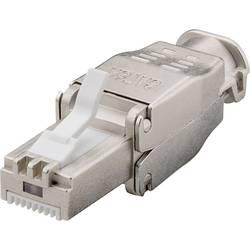 Konektor RAT45 brez orodja, zaščiten CAT 6A STP ravni moški konektor Goobay 38292 1 kos