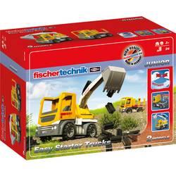 fischertechnik 554194 Easy Starter Trucks - Spielzeugbagger eksperimentalni set od 3 leta dalje