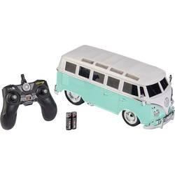 Carson Modellsport T1 Samba Bus turkizna s ščetkami 1:14 RC modeli avtomobilov cestni model RtR 2,4 GHz