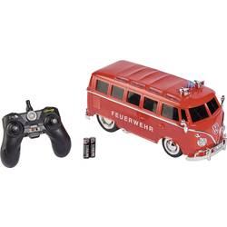 Carson Modellsport T1 Samba Bus Feuerwehr rdeča s ščetkami 1:14 RC modeli avtomobilov cestni model RtR 2,4 GHz