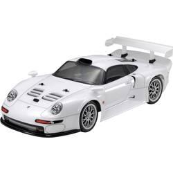 Tamiya Porsche 911 GT1 bela s ščetkami 1:10 RC modeli avtomobilov elektro cestni model pogon na vsa kolesa (4wd) komplet za sest