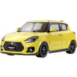 Tamiya Suzuki Swift sport rumena s ščetkami 1:10 RC modeli avtomobilov elektro cestni model sprednji pogon (2wd) komplet za sest