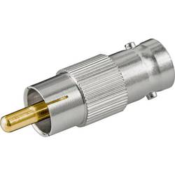 Goobay 11355 BNC-adapter BNC sklopka-moški cinch konektor 1 kos Bulk