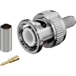 Goobay 11333 BNC konektor ravni moški konektor 50 Ω 1 kos Bulk