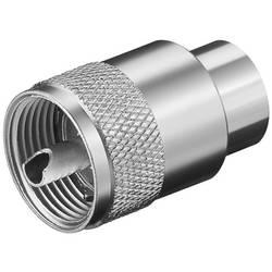 Goobay 11320 uhf konektor ravni moški konektor 50 Ω 1 kos Bulk