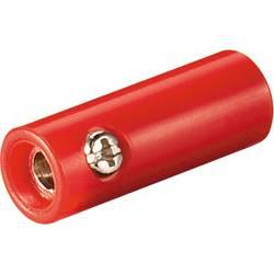 laboratorijski ženski konektor rdeča Goobay 11379 1 kos Bulk