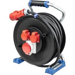 as - Schwabe 22655 kabelski bubanj 25.00 m crna muški konektor CEE 16 a 5-polni
