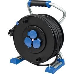 as - Schwabe 23625 kabelski bubanj 50.00 m crna muški konektor CEE 16 a 5-polni