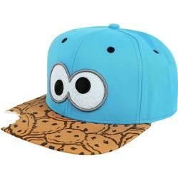 pokrivalo za glavu CAP SESAMSTRASSE KRÜMELMONSTER SNAPBACK plava boja, smeđa boja 603440