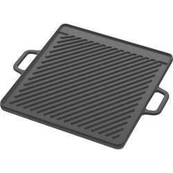 roštilj ploča lijevana roštilj tava tepro Garten crna