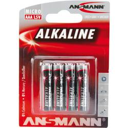 Ansmann LR03 Red-Line micro (aaa)-baterija alkalno-manganov 1.5 V 4 kos