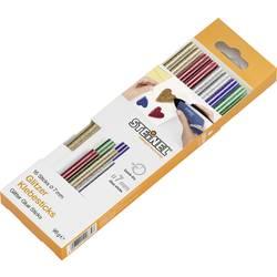 Steinel palice za vroče lepljenje 7 mm zlata, srebrna, zelena, modra, rdeča 16 kos