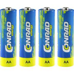 Conrad energy LR06 mignon (aa)-baterija alkalno-manganov 1.5 V 4 kos