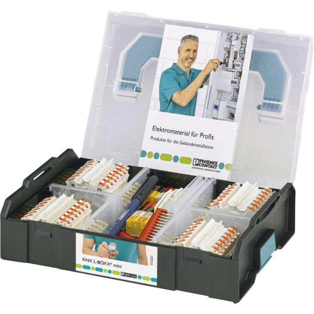 Phoenix Contact KNX Sortimo® L-BOXX MINI 1180883 dvonivojska sponka 0.14 mm² 1.5 mm² bela 1 set