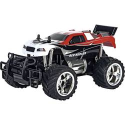 Carrera RC 370180012 Red Hunter X 1:18 RC avtomobilski model za začetnike elektro monster truck zadnji pogon (2wd)