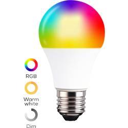 TCP Smart led svjetiljka, smarthome kolekcija WiFi LED Classic RGBW ES + CCT E27 9 W Energetska učink.: A+ (A++ - E) izmjenjiva,