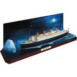 Revell 05599 RMS Titanic + 3D Puzzle Eisberg model plovila, komplet za sestavljanje 1:600