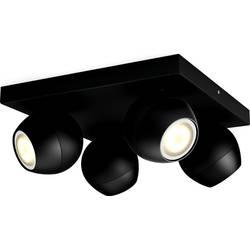 Philips Lighting Hue LED stropna in stenska svetilka Buckram GU10 20 W