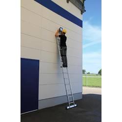 Günzburger Steigtechnik 10820 aluminij prislonilna lestev montaža z orodjem Delovna višina (maks.): 6.9 m