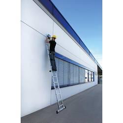 Günzburger Steigtechnik 10120 aluminij prislonilna lestev montaža z orodjem Delovna višina (maks.): 6.9 m