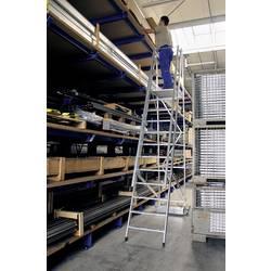 Günzburger Steigtechnik 52705 aluminij dvodelna lestev montaža z orodjem Delovna višina (maks.): 3.15 m