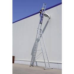 Günzburger Steigtechnik 33314 aluminij večnamenska lestev montaža z orodjem Delovna višina (maks.): 10.8 m