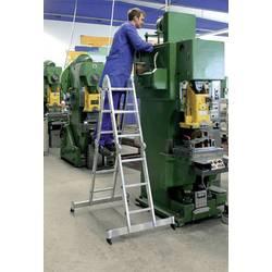 Günzburger Steigtechnik 11111 aluminij večnamenska lestev montaža z orodjem Delovna višina (maks.): 5.85 m