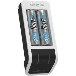 Ansmann Comfort Mini nikalj-metal-hidridni micro (AAA), mignon (AA) punjač okruglih stanica uklj. akumulator
