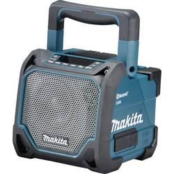 Bluetooth zvučnik Makita DMR202 zaštićen protiv prskajuće vode, otporan na udarce tirkizna, crna
