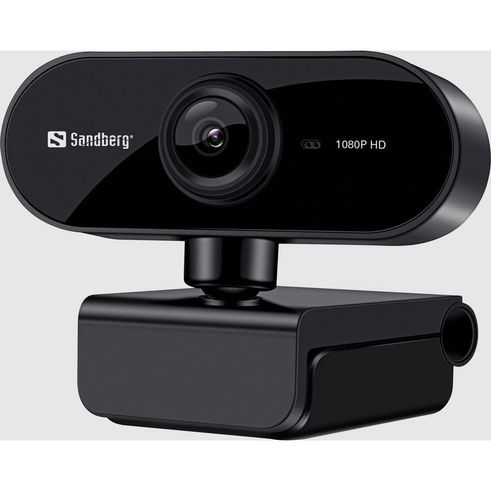 Sandberg Flex full hd spletna kamera 1920 x 1080 piksel