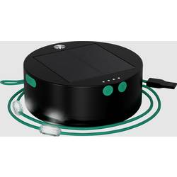 Mpowerd 1030 Luci Solar String svjetiljka za kampiranje 100 lm pogon na punjivu bateriju 320 g crna