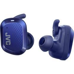 JVC HA-AE5T-A Bluetooth® športne in ear slušalke in ear zaščita pred znojenjem, vodoodporne modra