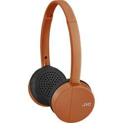 JVC HA-S24W-D Bluetooth® on ear slušalke on ear kontrola glasnosti oranžna