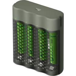 GP Batteries Mainstream-Line 4x ReCyko+ Micro polnilnik okroglih celic vklj. aku nikelj-metal-hidridni micro (aaa), mignon (aa)