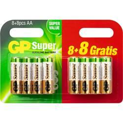 GP Batteries Super 8 + 8 gratis micro (aaa)-baterija alkalno-manganov 1.5 V 16 kos