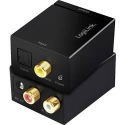 LogiLink toslink / cinch avdio adapter črna