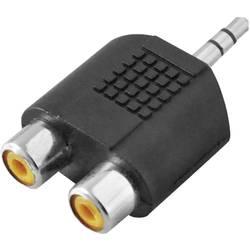 LogiLink klinker / cinch avdio adapter črna