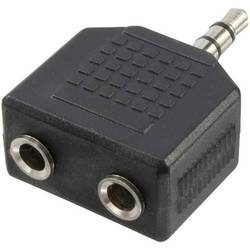 LogiLink klinker avdio adapter črna