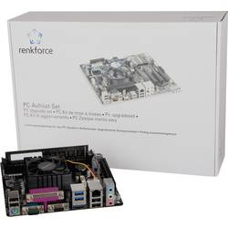 Renkforce komplet za podešavanje računala AMD E1 AMD E1-6010 APU (2 x 1.4 GHz) 8 GB AMD Radeon R2 Mini-ITX