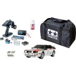 Tamiya TT-02 Audi Quattro Rally s ščetkami 1:10 RC modeli avtomobilov elektro cestni model pogon na vsa kolesa (4wd) varčevalni