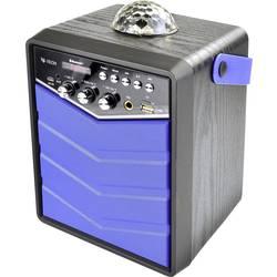 X4 Tech Bobby Joey Rockstar Bluetooth® zvočnik črna, modra